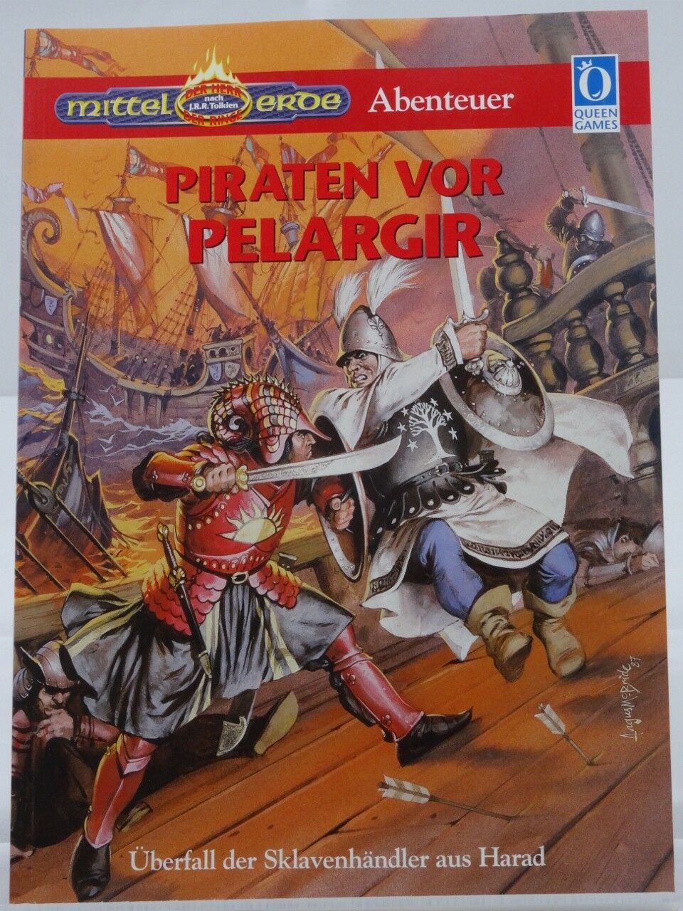 MERS - Piraten vor Pelargir - (Queen Games, Mittelerde) 101001002