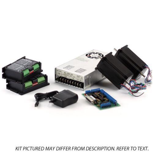 2-Axis NEMA23 CNC Kit 48V//7.3A 570 oz in KL-5056 Stepper Driver
