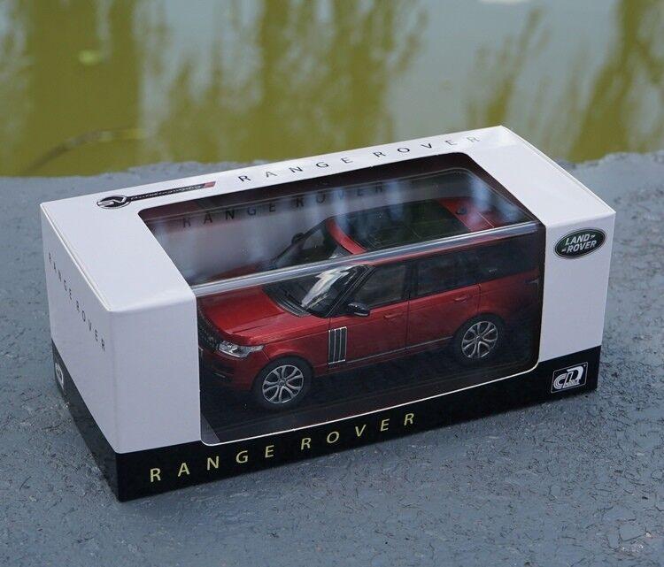 1 43 LAND ROVER, RANGE RANGE RANGE ROVER  red color Diecast Model + GIFT bae58c
