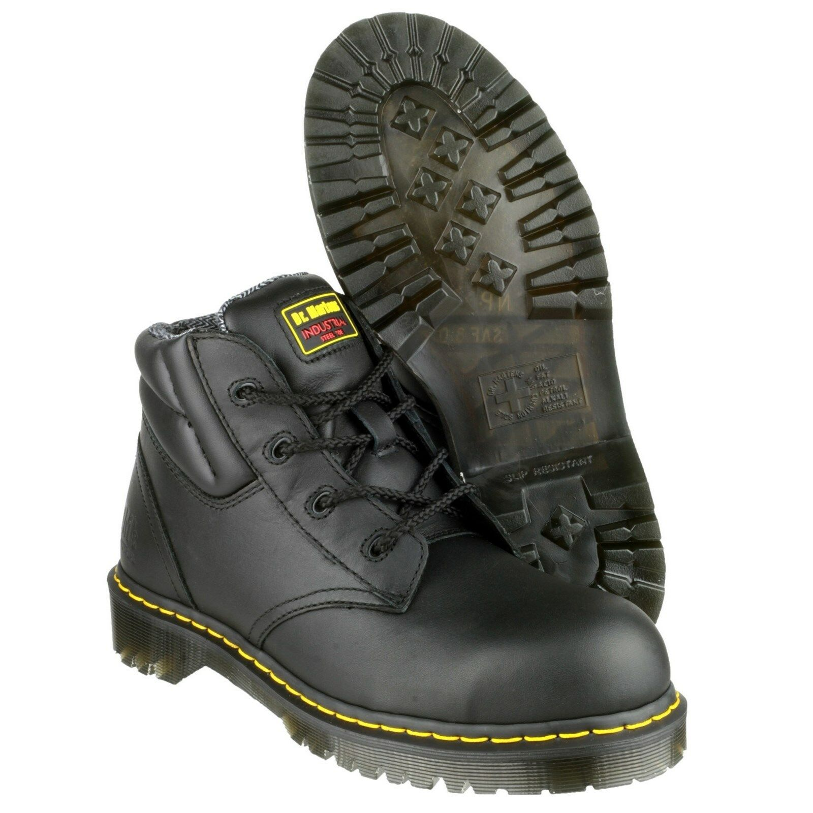 Dr Martens FS20Z Safety Stiefel Industrial Leather Steel Toe Cap Mens Work schuhe