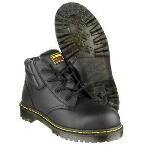 Sur Embout De Détails Martens Industriel Dr Acier Fs20z Sécurité Cuir Coqué Homme Chaussures WHYD9eIE2