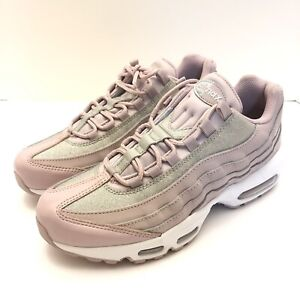 Details about Nike Air Max 95 SE Glitter Particle Rose Pink Womens Size 9 AT0068 600 New