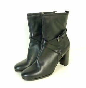 MARC-O-POLO-High-Heel-Stiefelette-Boots-Schwarz-Gr-UK-5-5-EU-38-5-N71