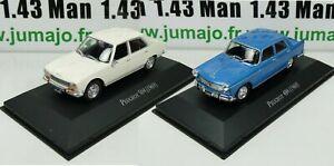 LOT-2-Voiture-1-43-SALVAT-Autos-Inolvidables-Peugeot-404-et-504