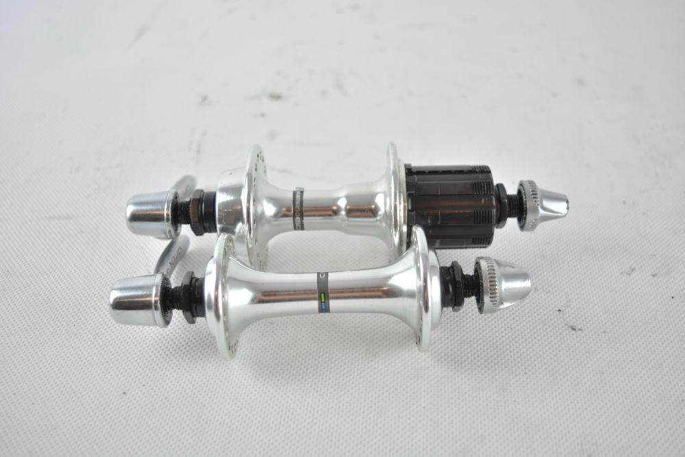 Shimano 600 triColor concentradores    36h   126mm   Hg ug  muy Buen Estado