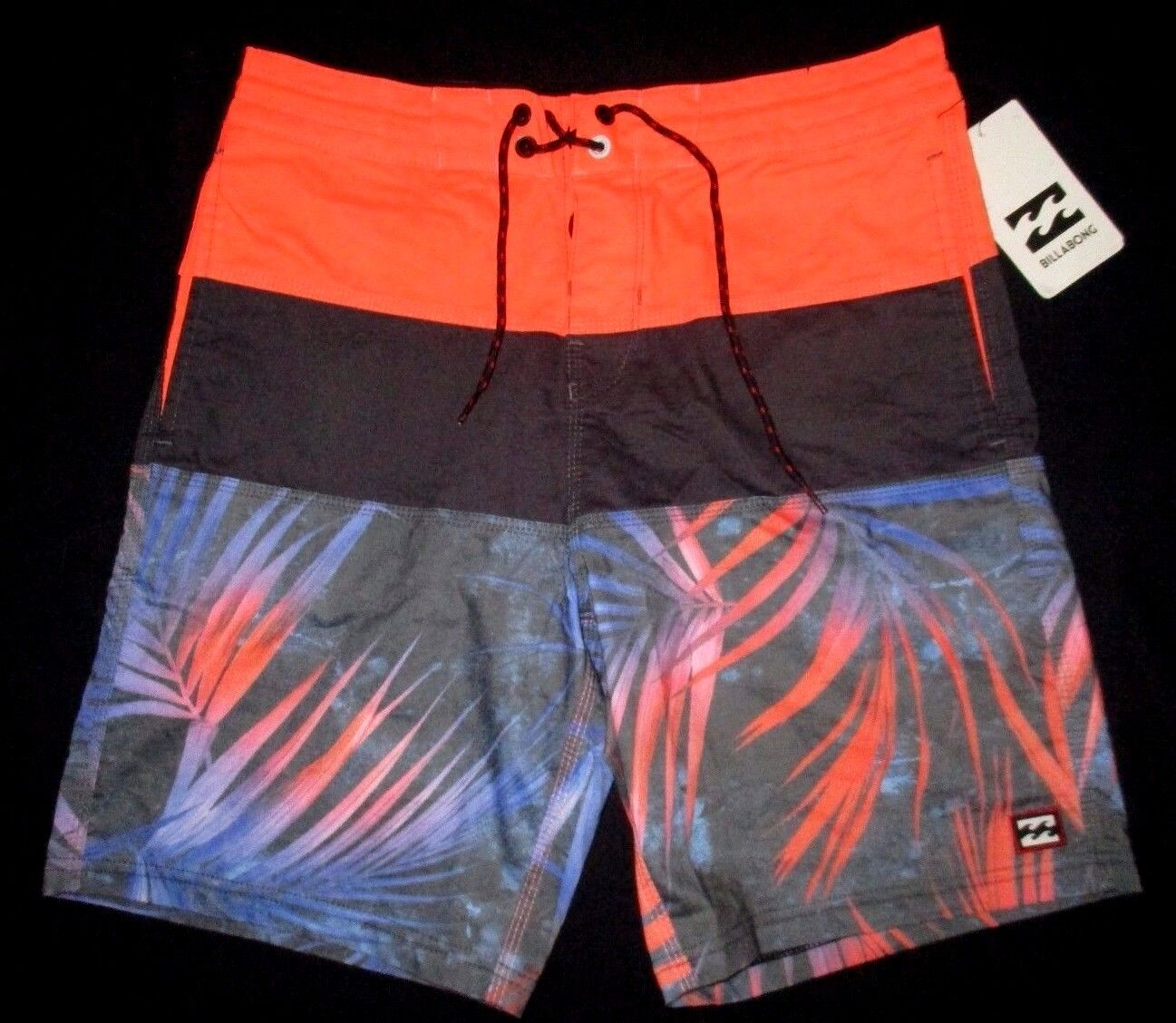 a212cfc9cd BILLABONG orange BOARD SHORTS SIZE 33 MENS SWIM neyslf990-Swimwear ...