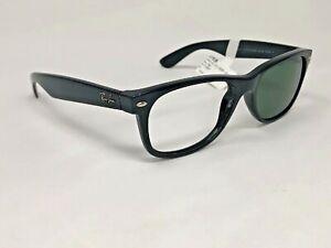 RAY-BAN-NEW-WAYFARER-Sunglasses-Frame-Italy-RB2132-901-58-55-18mm-Black-IT51