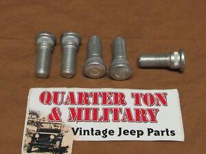 Right Hand Lug Nut 13//16 big ones fit Willys M38 M38A1 CJ2A CJ3A jeep