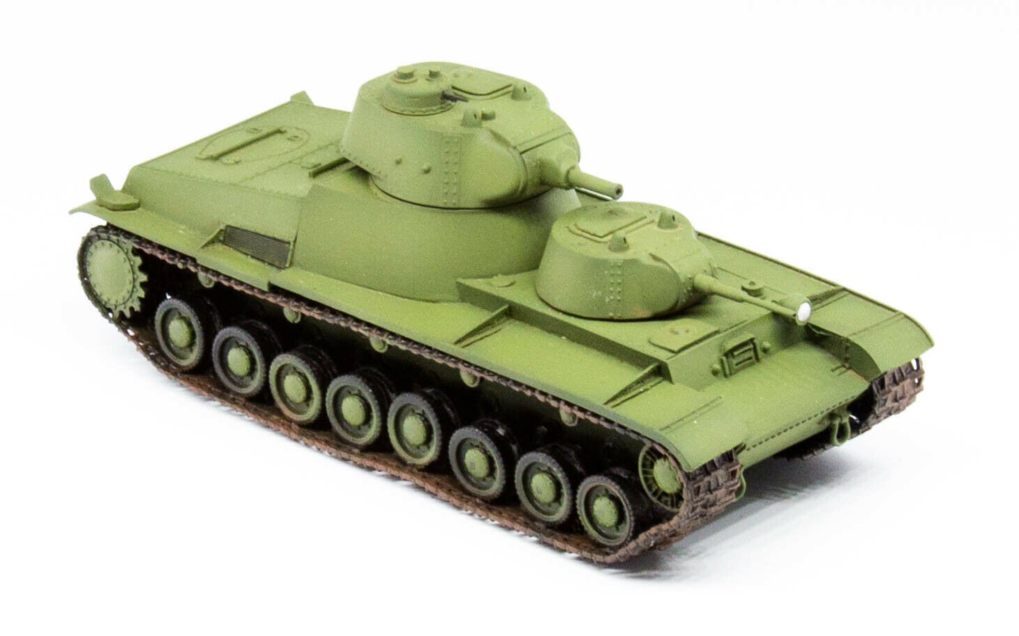 1 72 T-100 Heavy Tank Early Assembled Finished Model by 5M Hobby