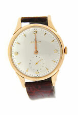 Zenith Vintage 18K Rose Gold Watch