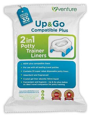 Conscientious Portable Pot De Bébé Doublures 35 Set Comaptible Avec Oxo Tot Pote Plus Babyway Clear-Cut Texture