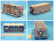 Vierfach-Drehkondensator aus einem Funkgerät der Wehrmacht. LgNr. W1039
