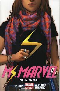 Ms-Marvel-No-Normal-Volume-1-Marvel-Comics-TPB-Graphic-Novel-2016-NEW