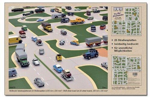 Routes Plaques-Set NOUVEAU-Street Plates Set-par exemple pour 1:87 LEGO siku matchbox alt