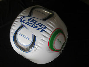 Beautiful Image Is Loading Bud Light Beer Mexico Soccer Beach Ball Inflatable  Nice Ideas