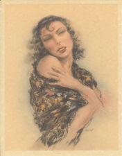 Edouard Chimot Modern Reprint - Roses des sables #10 - Ready to frame