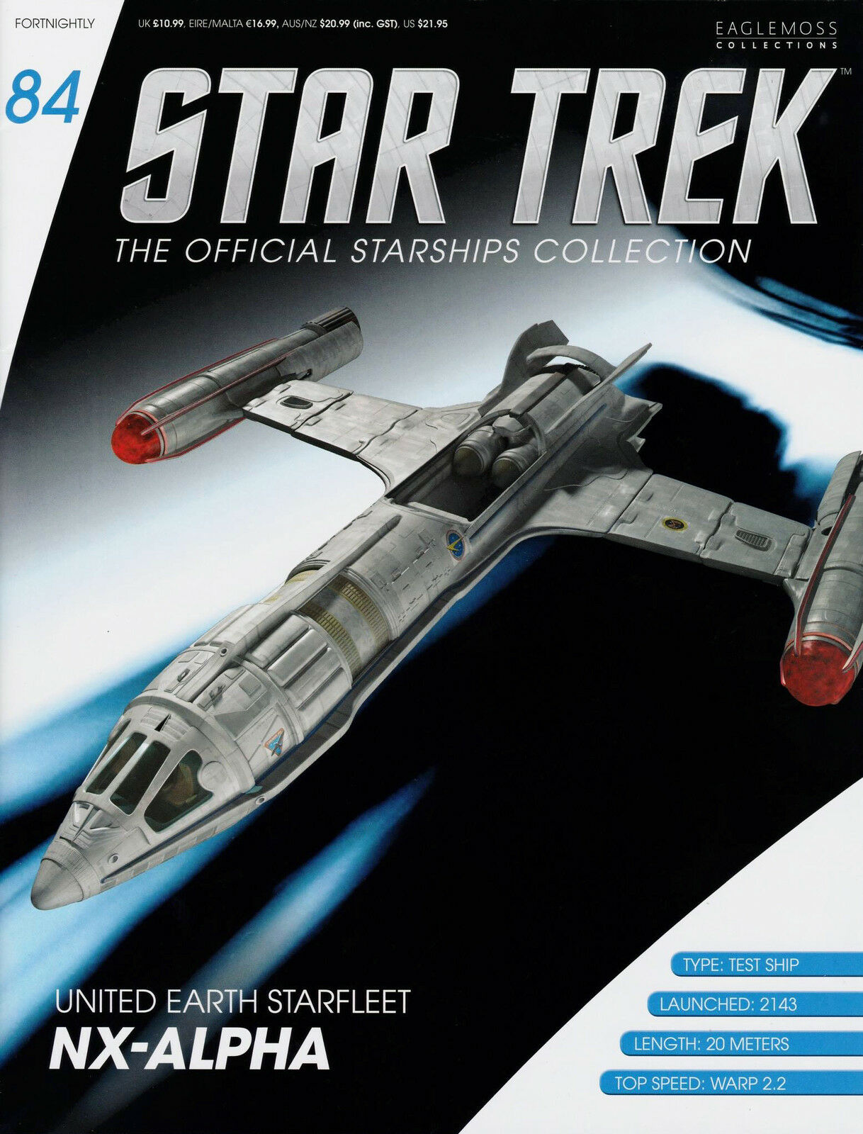 United Earth Starfleet NX-Alpha Model Ship  Metall Metall Metall Modell Diecast neu ovp 1faef8