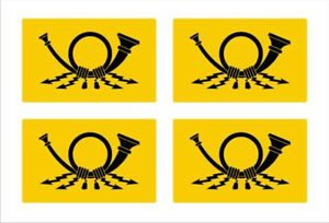 Aufkleber//Sticker Deutsch Ostafrika Kolonie Wappen Preußen Abzeichen 6x7cm A1027