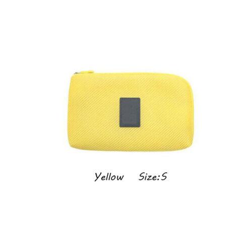 De Câble USB Sac De Rangement Voyage Résistant Aux Chocs Pochette Zip