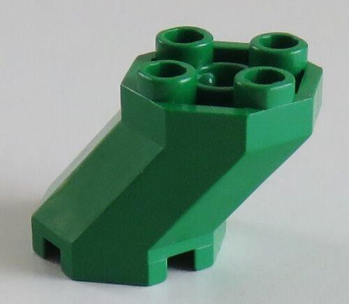 Stein/ Brick 2 x 3 x 1 2/3 achteckig LEGO geneigt octagonal grün # 6032