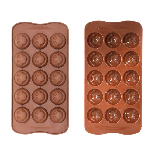 Silicone ice tray//chocolat moule de sugarcraft//gâteaux etc-emoji sourire