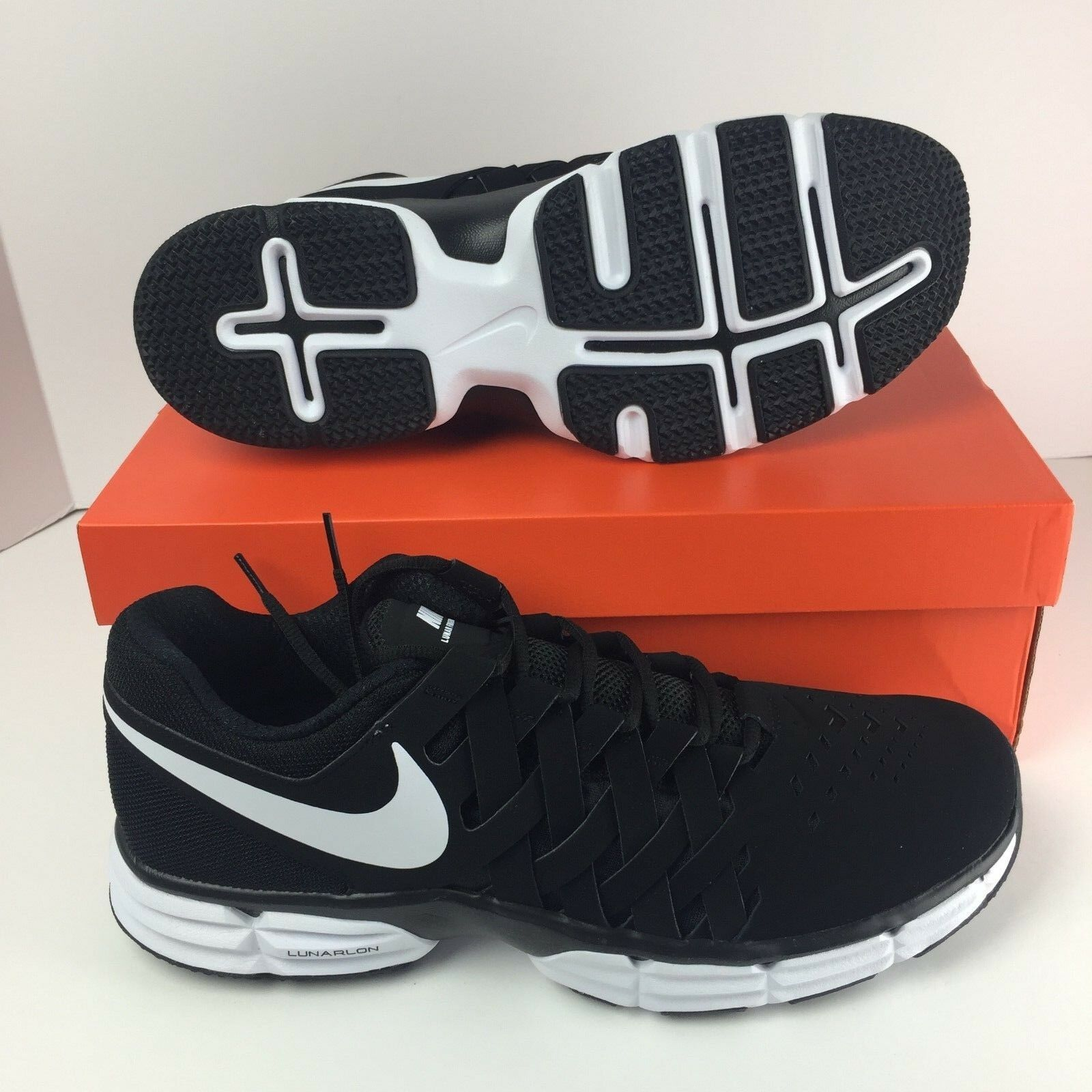 32da51d841 Nike Fingertrap Tr Black 898066-001 Training shoes Men's Lunar White ...