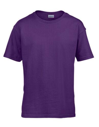 Softstyle® Kinder T-Shirt für Jungen und Mädchen 2er Pack