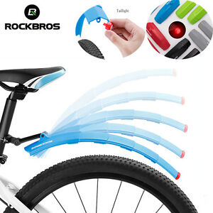 Bicycle Mountain Bike MTB Cycling Front Rear Fenders Splash Guard Mudguard Witty