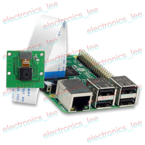 2 5MP Mini Camera OV5647 Sensor 1080p 720p video for Raspberry Pi 3 B+ B