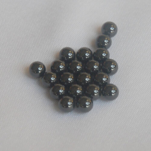 New 20pcs 5.5MM Ceramic Diff Black Balls (Si3N4) GRADE 5