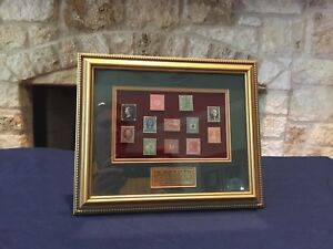 Framed-Philatelic-Lapel-Pins-Limited-Edition-92-100