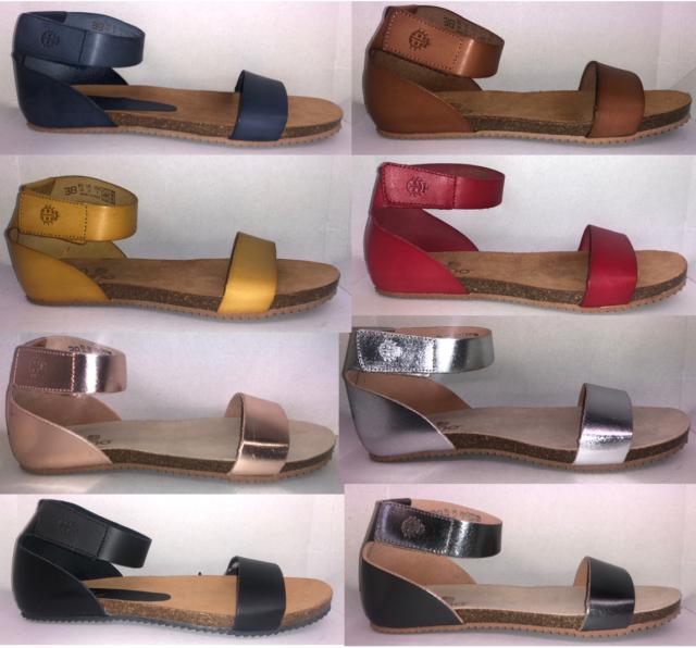 Ladies Yokono Flat Genova To 2 Spanish Sandals 9 Leather 400 Uk Size Summer stdorhxQBC