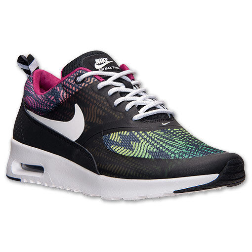 AUTHENTIC NIKE Air Max Thea Blk Green Multi-color Rainbow 599408 065 Women size