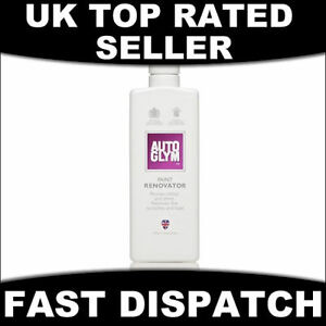 AUTOGLYM PAINT RENOVATOR RESTORER POLISH 325ML - CAR BODYWORK - FREE P+P