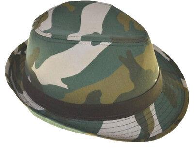 G Men/'s Camouflage Fedora Hat Pink Camo