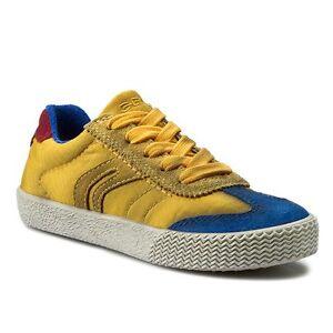 Ovp Geox Dgr39 Boys Smart Zu Gelb Neuamp; Details J Sneaker Blau Boy 40Jungen PX8nO0wk