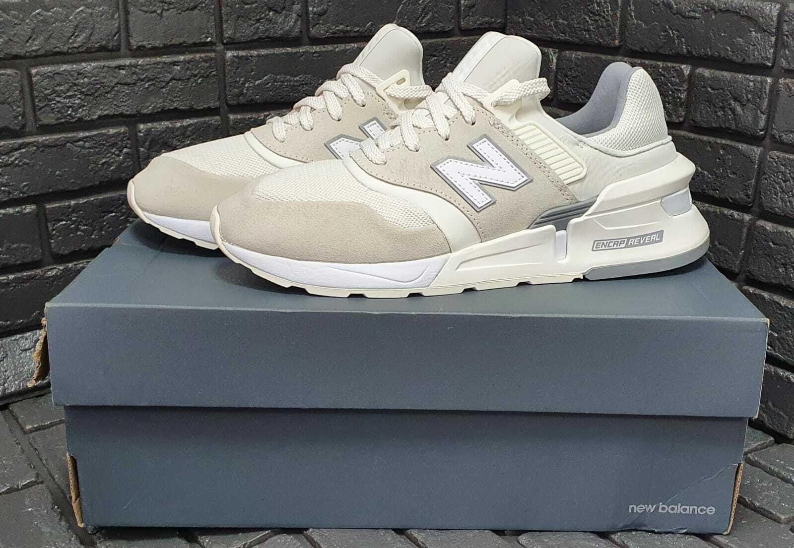 New Balance S997HO Lifestyle Shoes, White, Men's UK 8.5 RRP