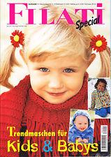 Filati Special, Kids Babys–Ausgabe 1,79 Modelle, Anleitungen,stricken, Pullover