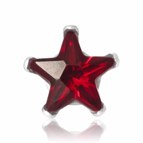 USA Seller Star Stud Earrings Sterling Silver 925 Best Prise Jewelry Gift 8 mm