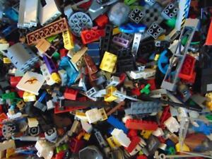 1-Kg-1000-g-Genuine-Random-Lego-Bricks-Parts-amp-Pieces-Joblot-Bundle
