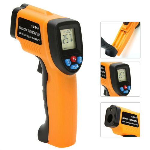 LCD Infrared Infrared Digital Industrial Thermometer High Quality Useful Hot New