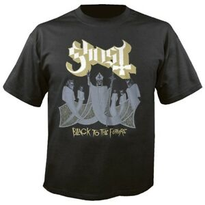 GHOST-Black-to-the-future-T-Shirt