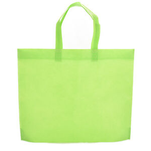 Image Is Loading Fabric Storage Eco Reusable Ping Bags Tote Foldable