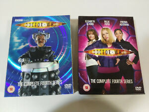 Doctor-Who-The-Complete-Fourth-4-Series-6-X-DVD-BBC-Special-Edition-English-3T