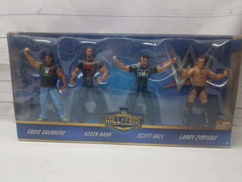 WWE Hall Of Fame WCW Nitro Notables Guerrero Nash Hall Zybysko NWO LWO