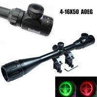 6-24x50 Aoeg R&g Illuminated Hunting Riflescope Tactical Optical Rifle Scopes Au