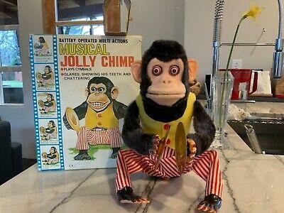 Yamani Naughtiness Monkey Cymbal Nostalgic toys Rare New
