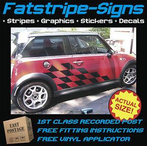 Mini Car Graphics Vinyl Stripes Decals Stickers Cooper S One Jcw 1 4