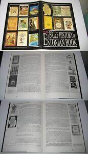 ESTONIAN-BOOK-BRIEF-HISTORY-rare-book-in-English-1993