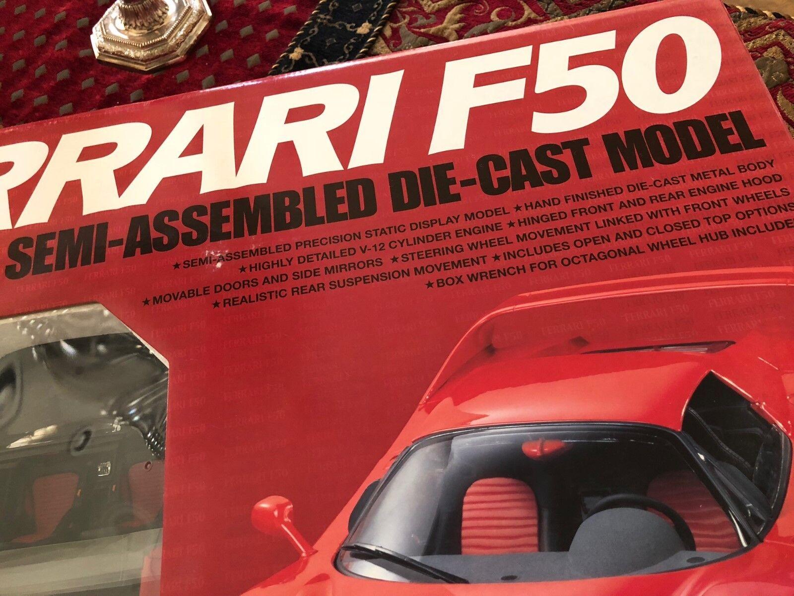 Tamiya Die-Cast 1:12 | SALE | 1997 Ferrari F50 Semi-Assembled Model Replica